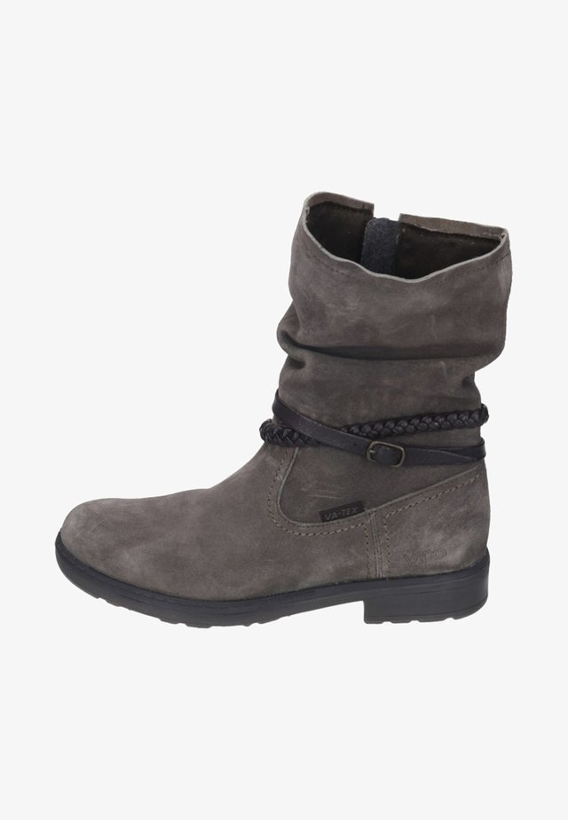 Classic ankle boots - walnut