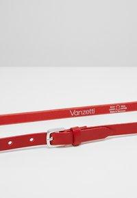 Vanzetti - Belt - rot - 3