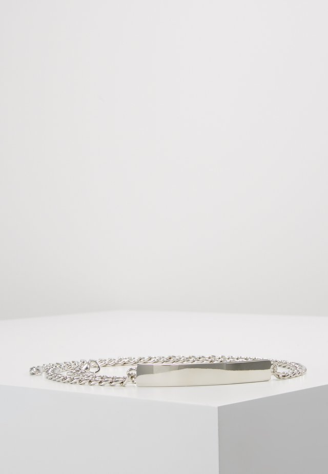 Waist belt - silver-coloured