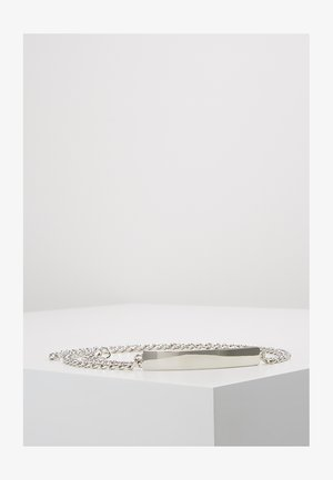 Cinturón - silver-coloured