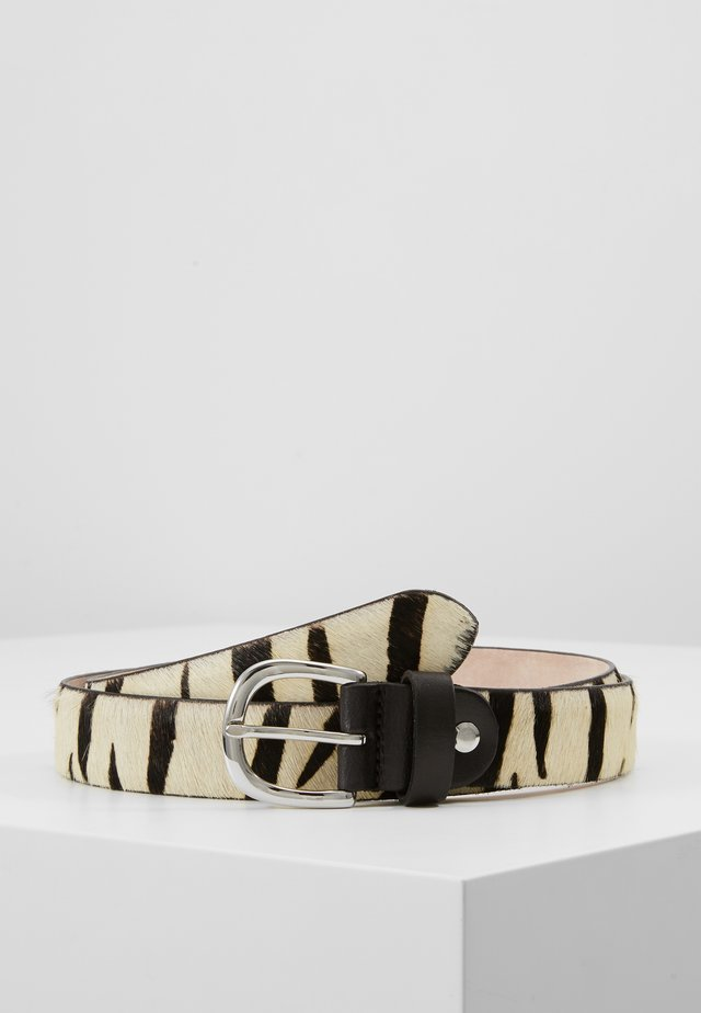 Belt - black/white