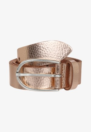 Belt business - kupfer metallic