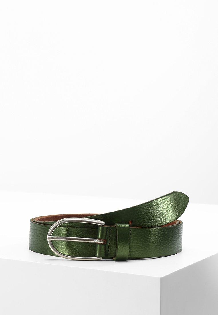 Vanzetti - Gürtel business - grün metallic