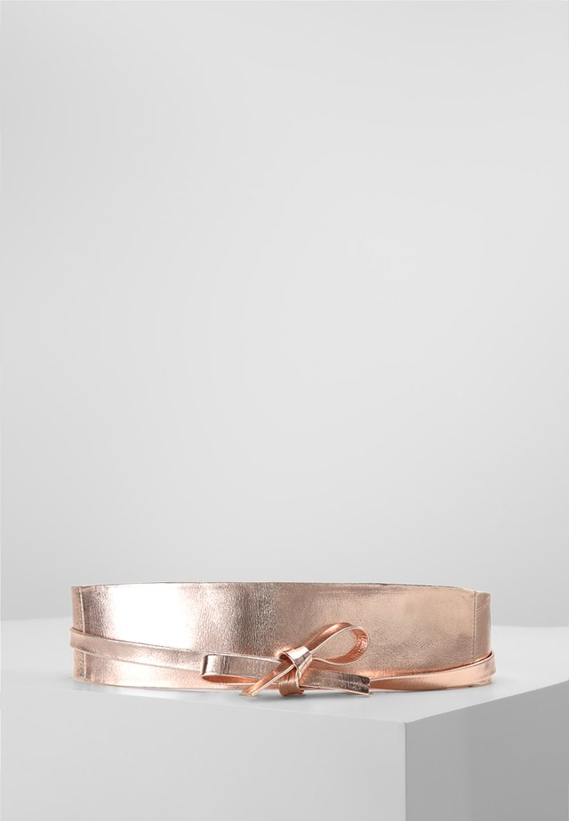 Waist belt - hell kupfer metallic