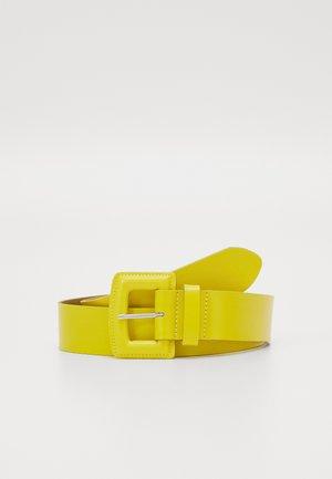 Gürtel - yellow