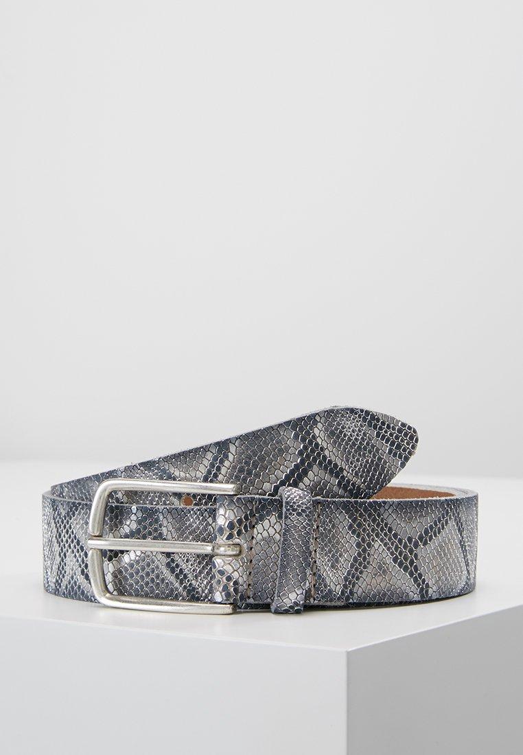 Vanzetti - Belt - schwarz/silber