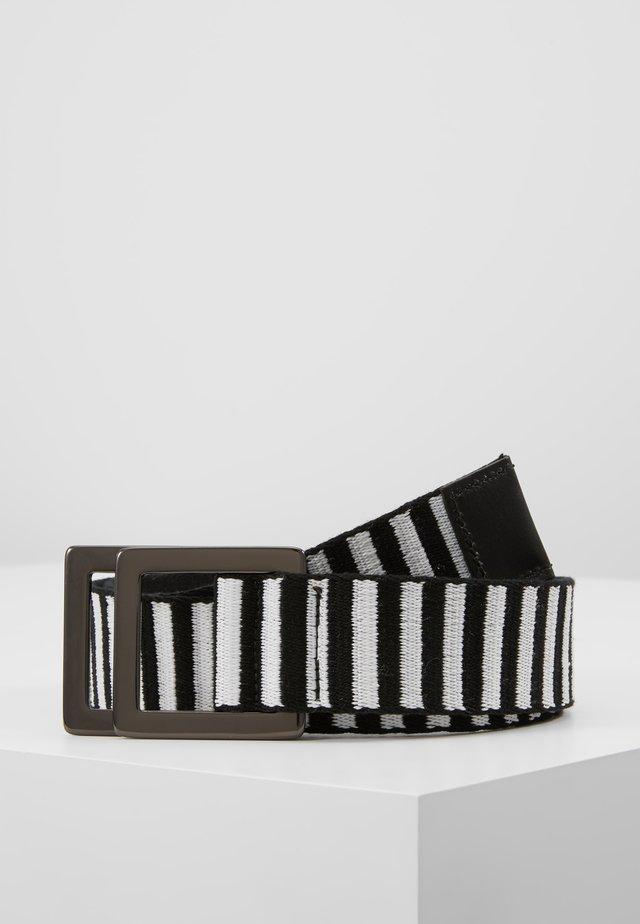 Belt - schwarz/weiß