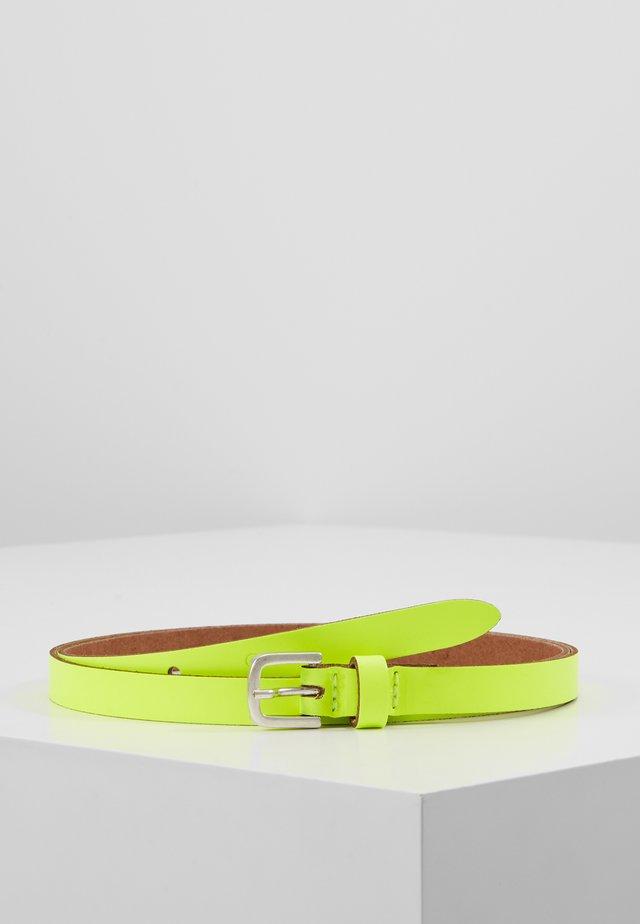 Belt - neongelb