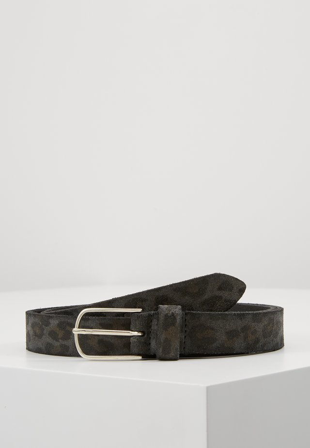 Belt - anthracite