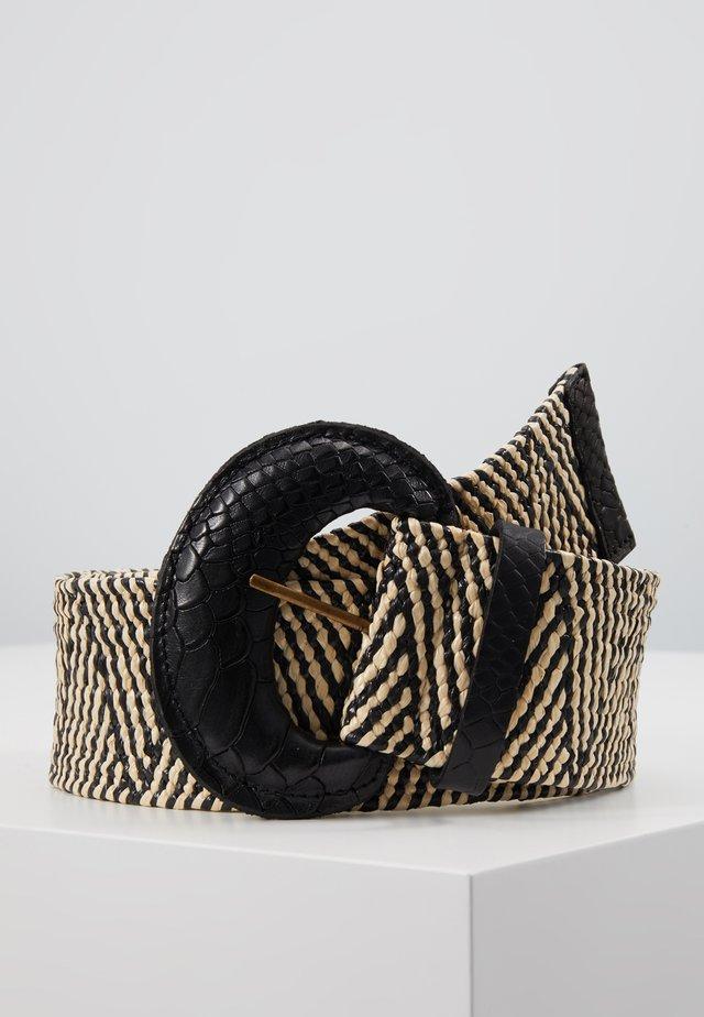Belt - black/offwhite