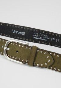 Vanzetti - Pásek - olivgrün - 4