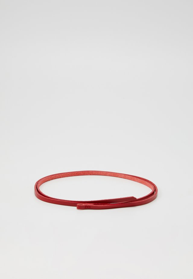 Gürtel - rot