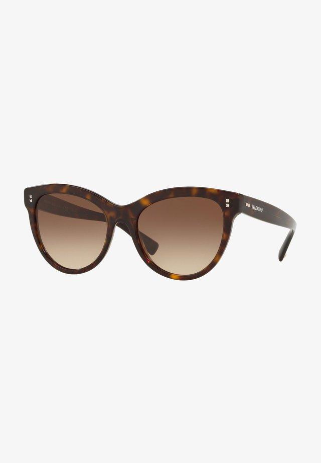 Sunglasses - havana/brown shaded