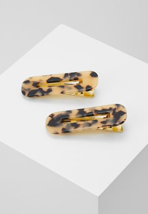 GRETA 2 PACK - Hair Styling Accessory - beige/black/dark brown