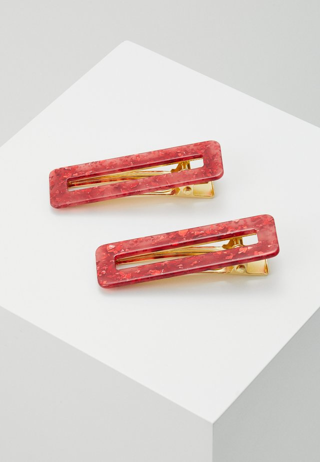 DILLONE 2 PACK - Hair styling accessory - red