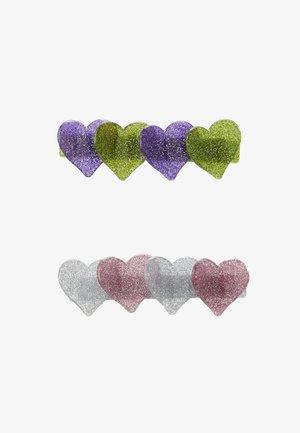 BAMBI CLIPS 2 PACK - Příslušenství kvlasovému stylingu - pink/purple