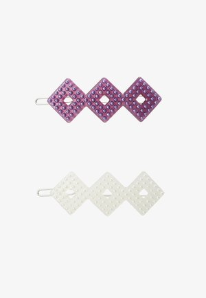 HARPER CLIPS 2 PACK - Hair styling accessory - pink/white