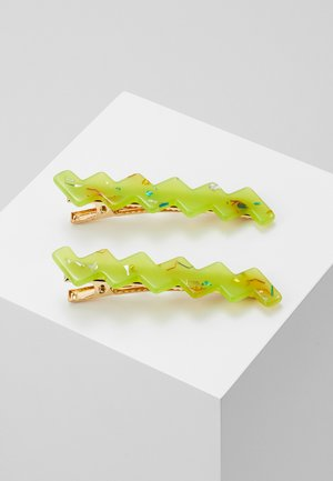 NEEVE CLIPS 2 PACK - Hair styling accessory - green
