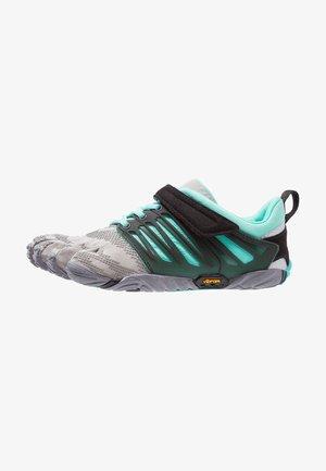 Sports shoes - grey/black/aqua