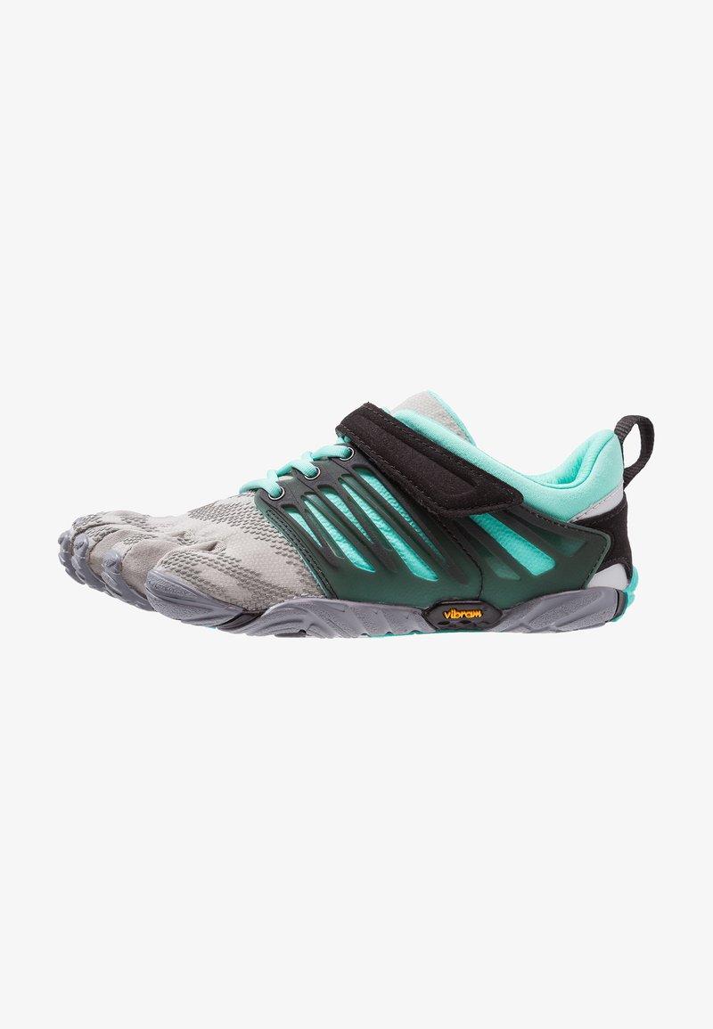 Vibram Fivefingers - V-TRAIN - Sports shoes - grey/black/aqua