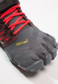 Vibram Fivefingers - V-TRAIN - Obuwie treningowe - grey/black/red - 5