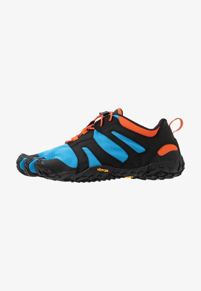 V-TRAIL 2.0 - Minimalist running shoes - blue/orange