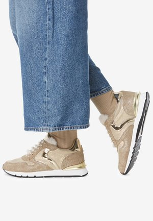 Sneakers basse - gold