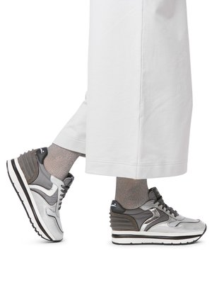 MAY POWER - Sneakers basse - silver