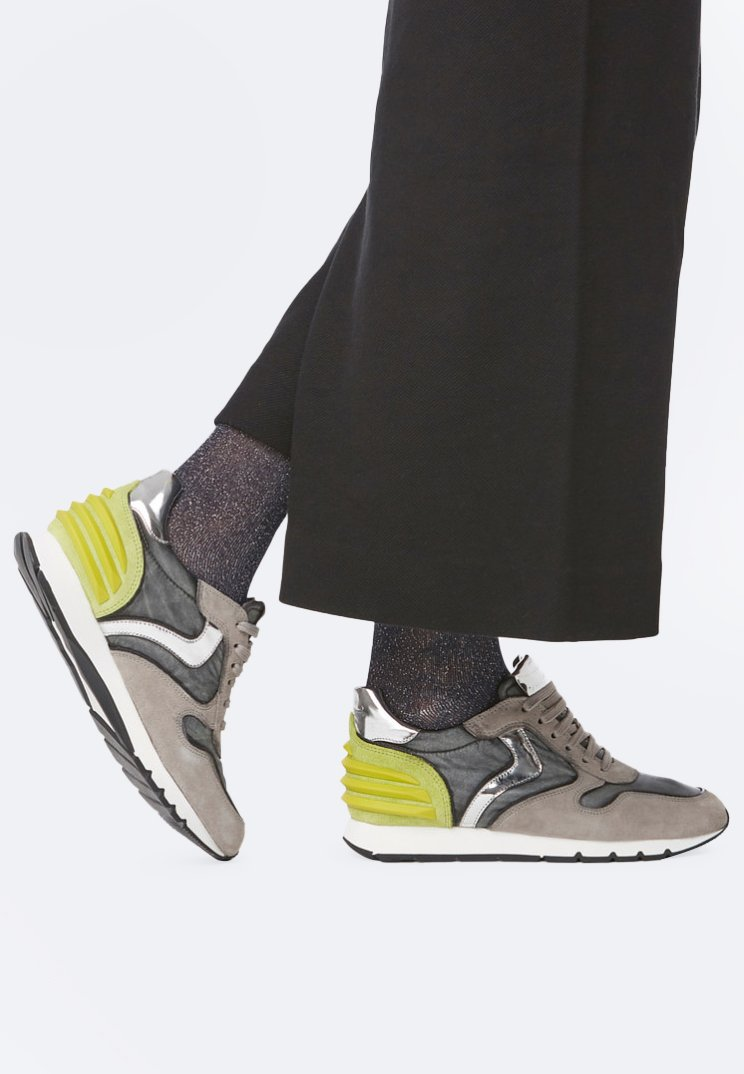 Voile Blanche - JULIA POWER - Trainers - gray