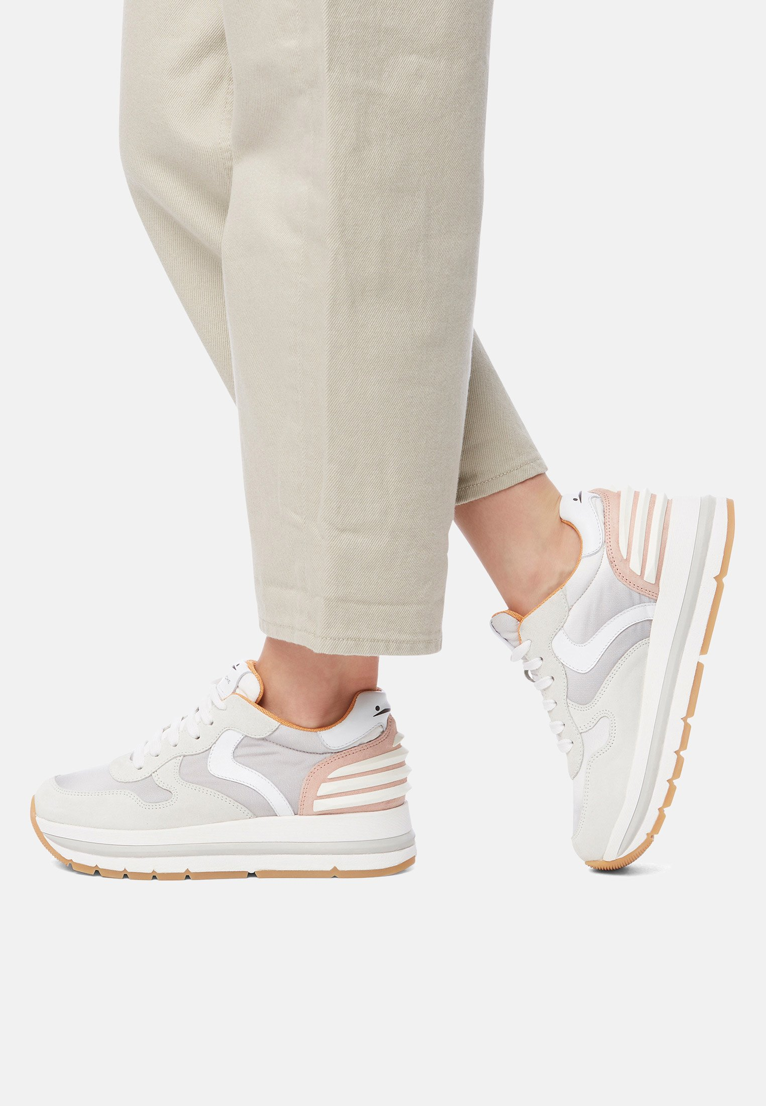 Voile Blanche MARAN POWER - Sneakers basse - pink
