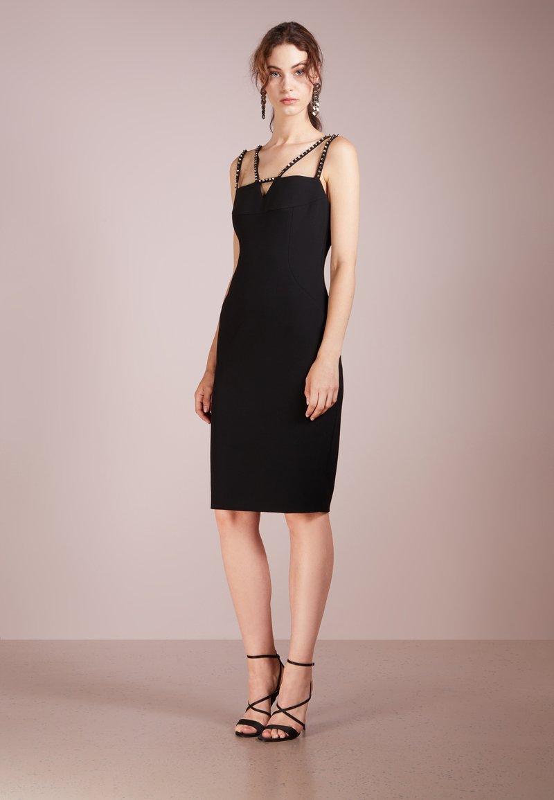 Versace Collection - STUD DRESS - Vestido de cóctel - nero