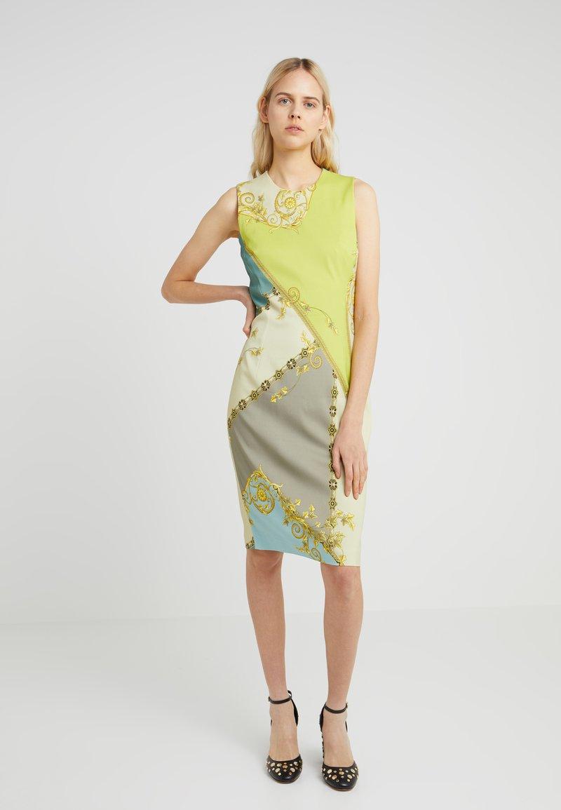 Versace Collection - DRESS - Vestido de tubo - lime