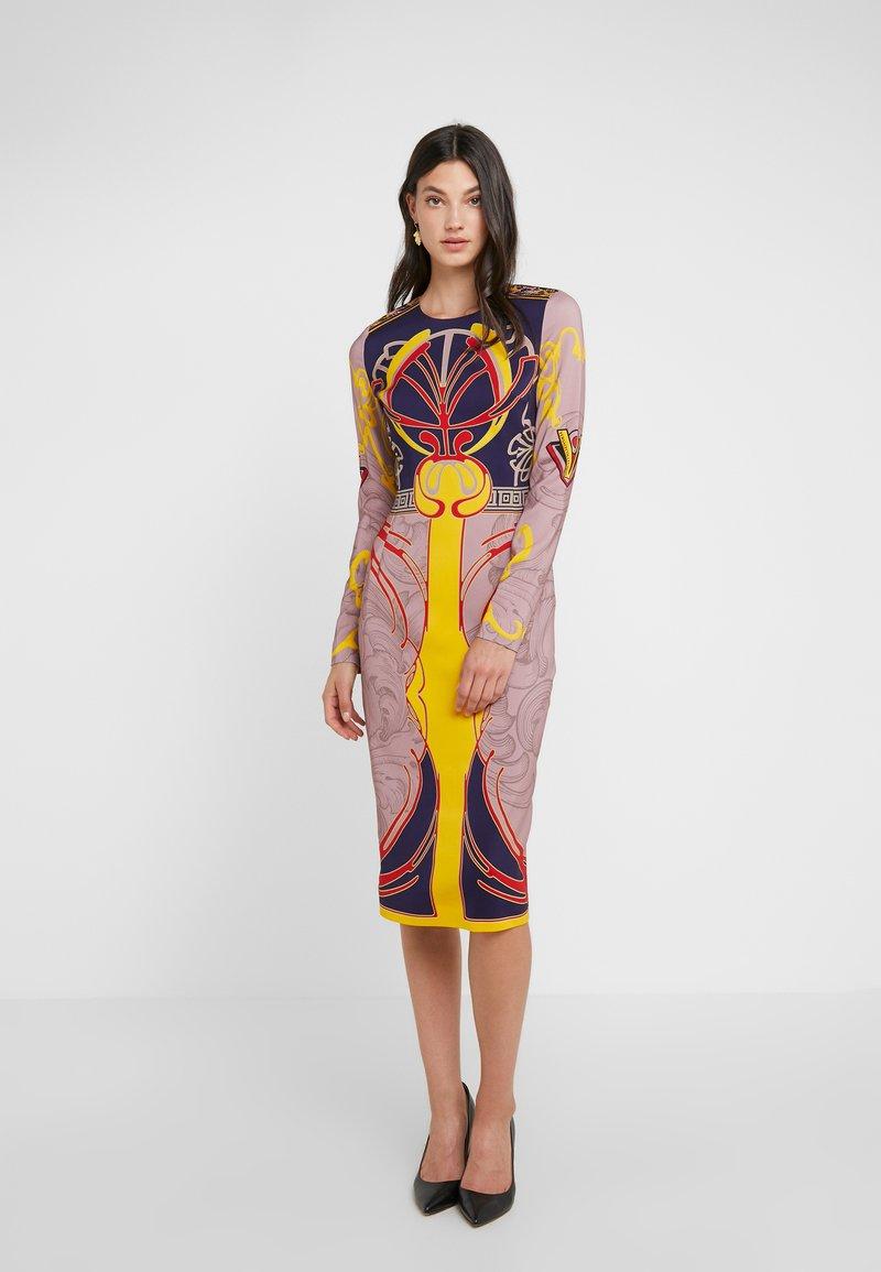 Versace Collection - Etuikleid - blue/giallo