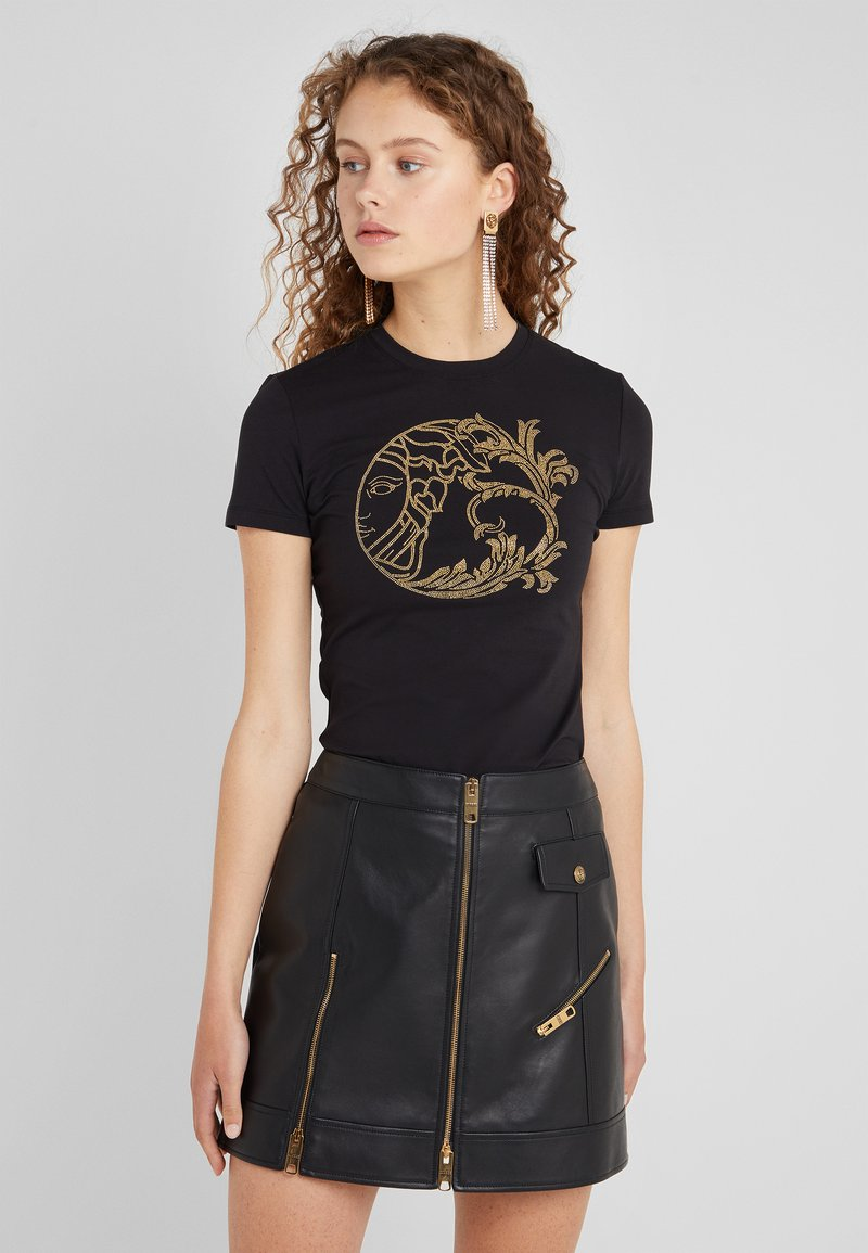 Versace Collection - T-shirts med print - nero