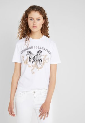 T-shirt con stampa - bianco