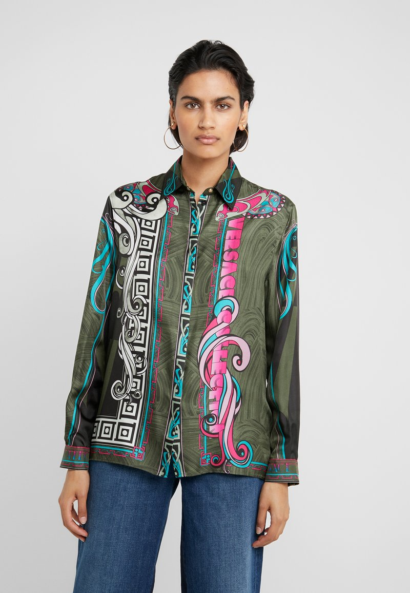 Versace Collection - Button-down blouse - rosa