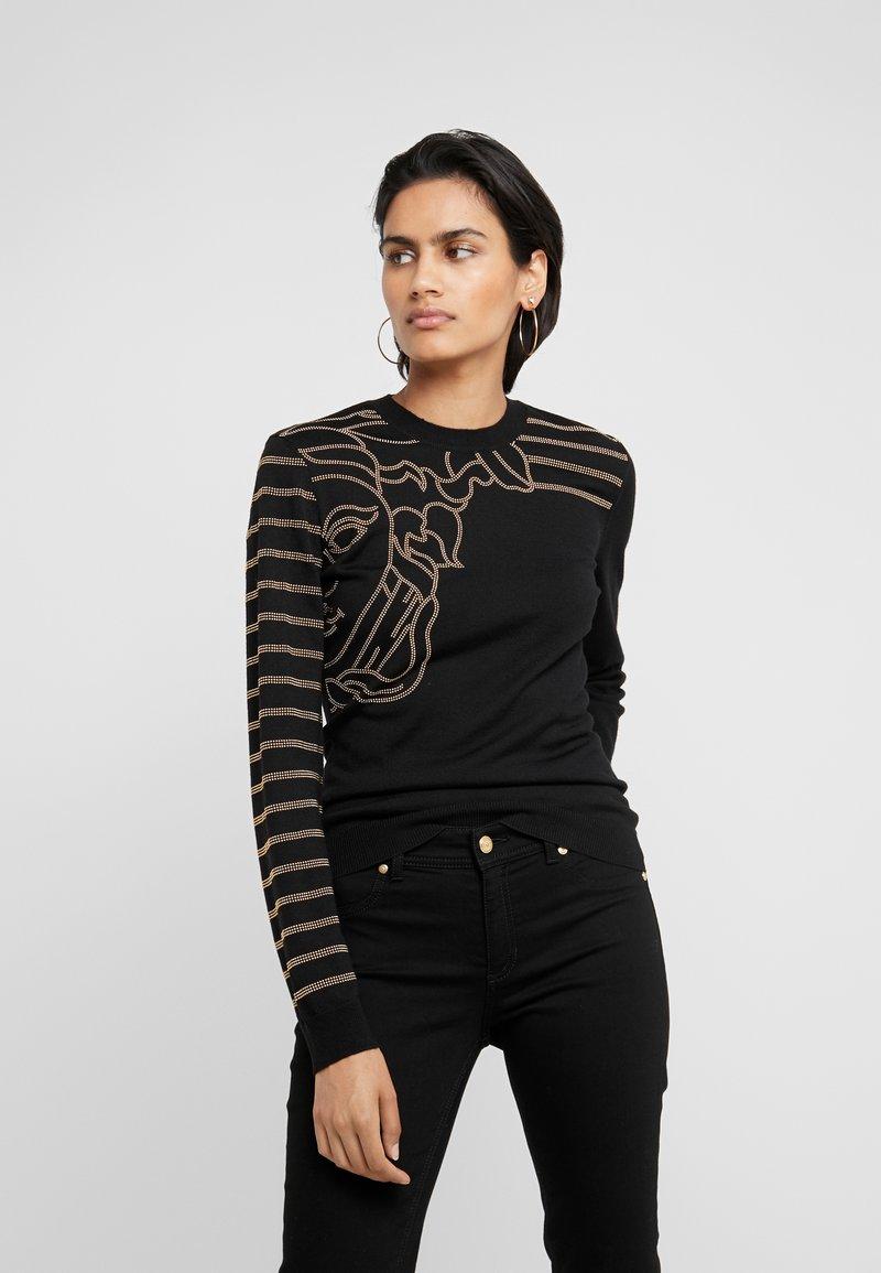 Versace Collection - Strikpullover /Striktrøjer - black