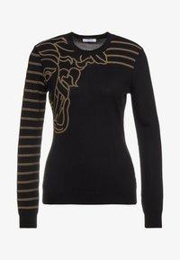 Versace Collection - Strikpullover /Striktrøjer - black - 4