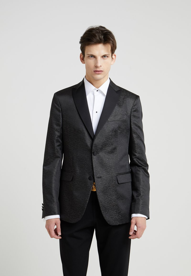 Versace Collection - FORMALE GIACCA SERA - Suit jacket - nero argento