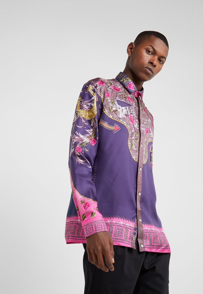 Versace Collection - CAMICIE TESSUTO - Skjorter - rosa scuro