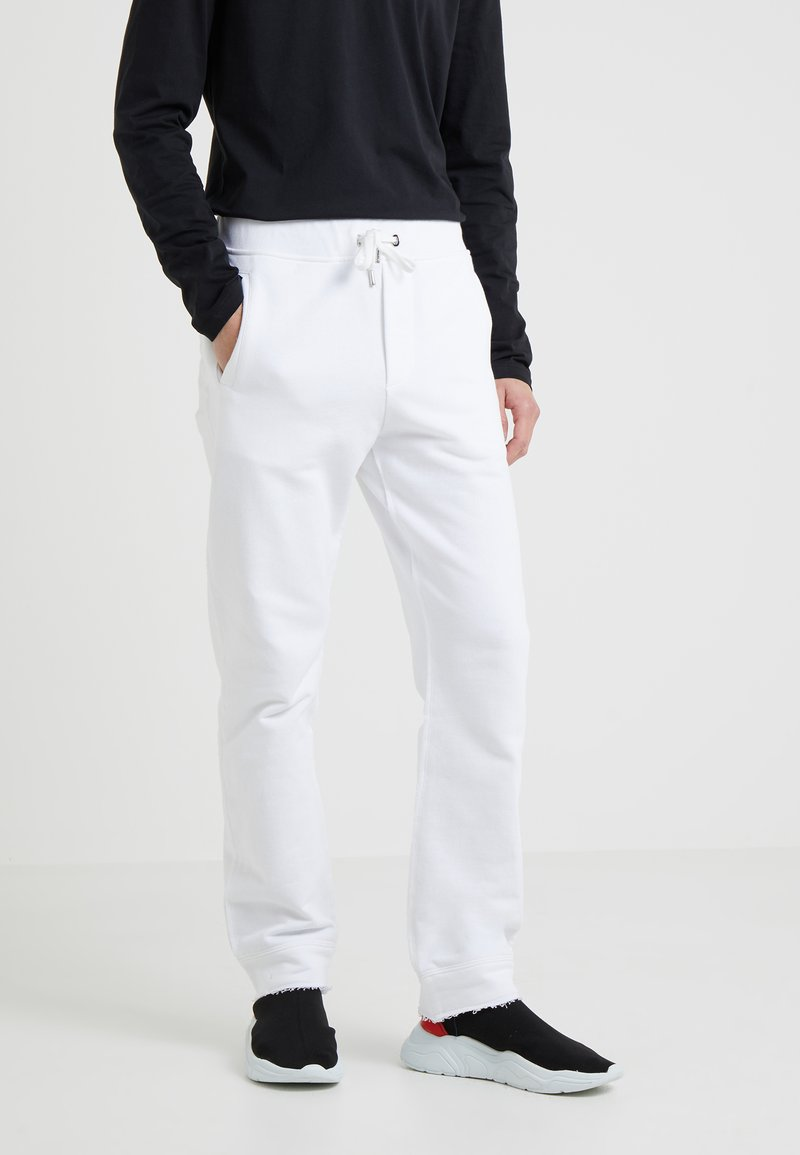 Versace Collection - SPORTIVO PANTALONE - Teplákové kalhoty - bianco ottico