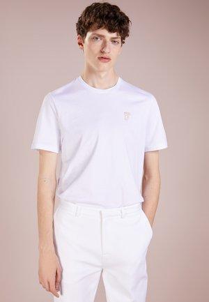 Camiseta básica - bianco/oro