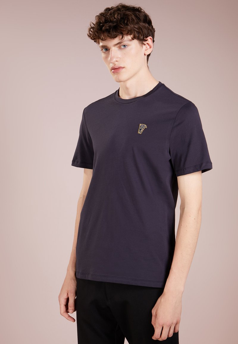 Versace Collection - T-shirt - bas - navy/oro