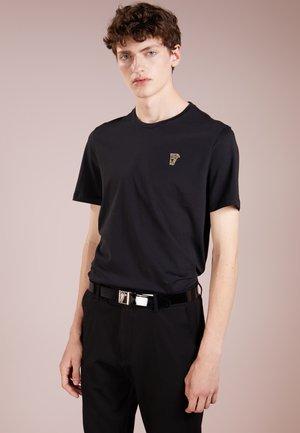 Basic T-shirt - nero/oro