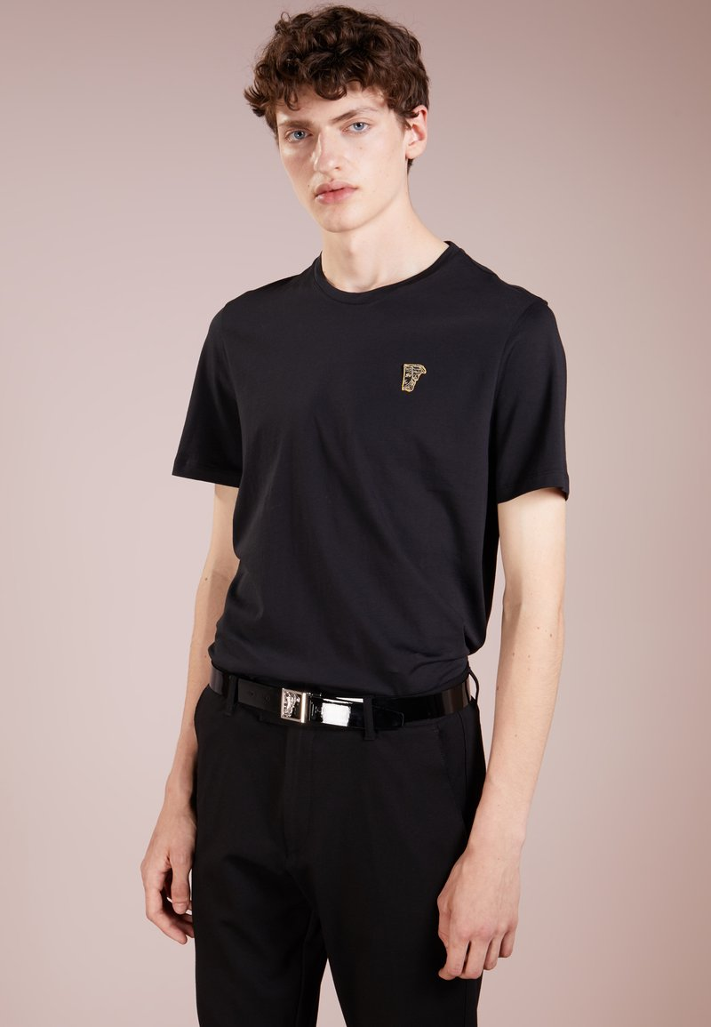 Versace Collection - T-shirt basique - nero/oro