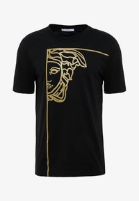 Versace Collection - T-shirt imprimé - nero/oro - 3