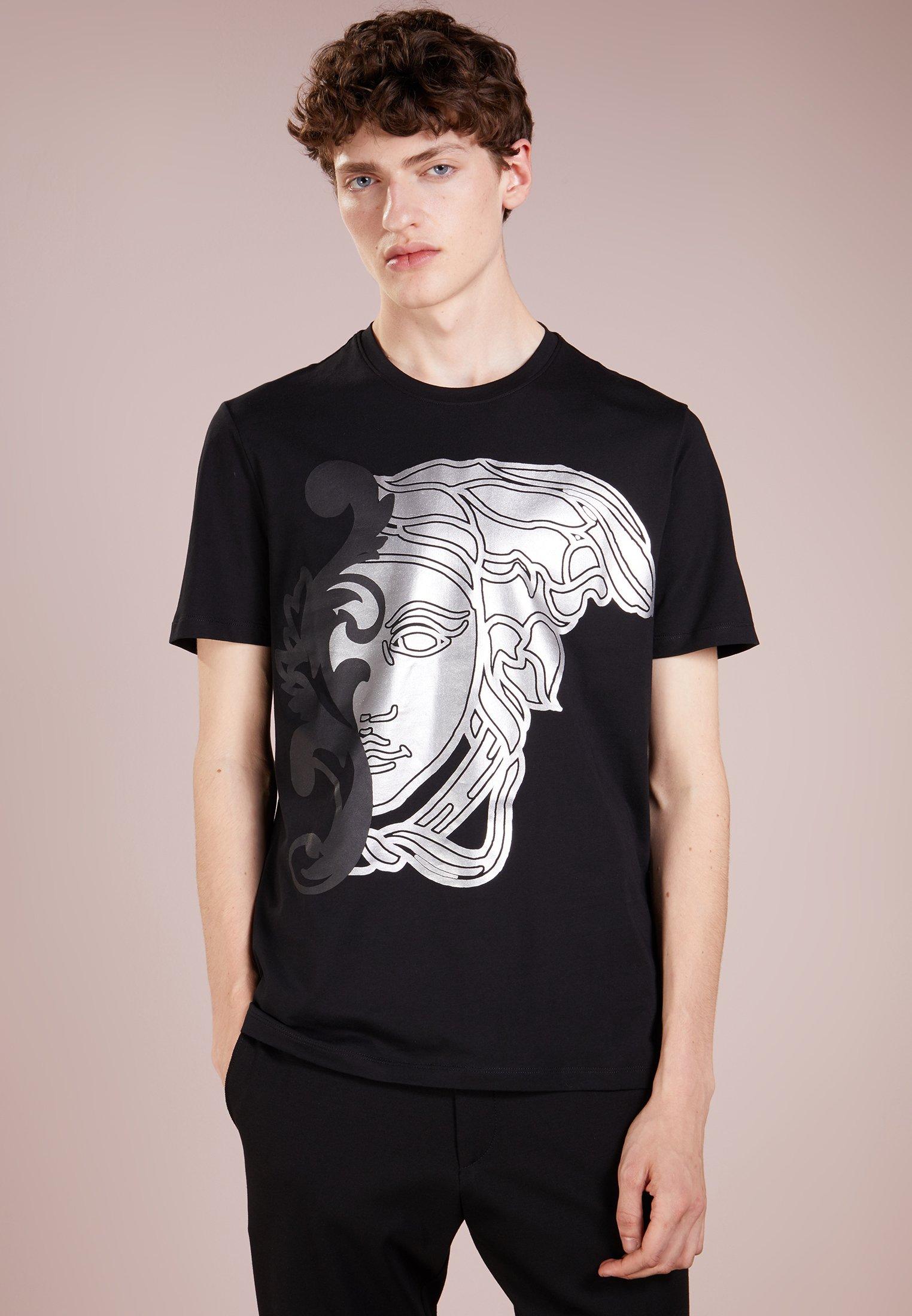ImpriméNero Versace shirt T shirt Versace T Collection Collection zLpUSMVqG