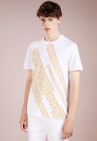 Versace Collection - T-shirt con stampa - bianco - 0