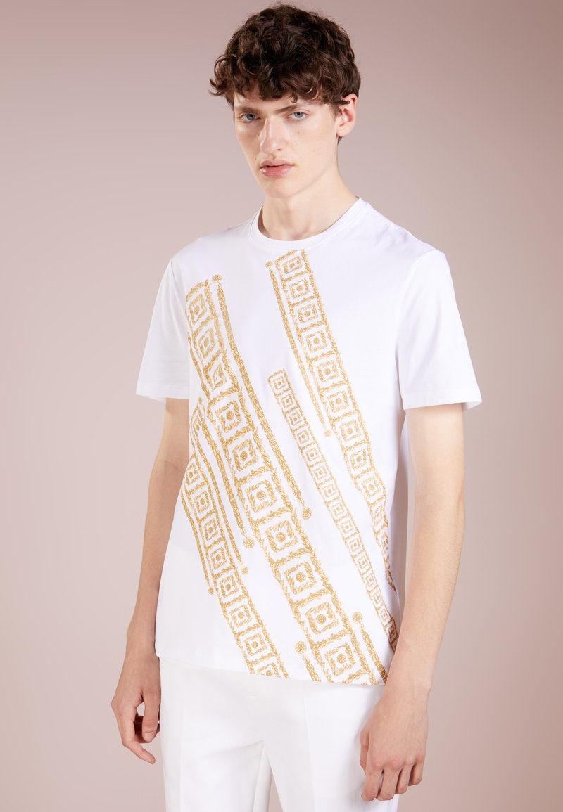 Versace Collection - T-shirt con stampa - bianco