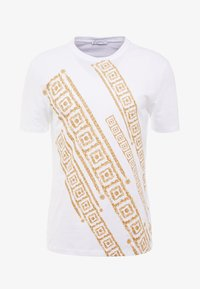 Versace Collection - T-shirt con stampa - bianco - 4